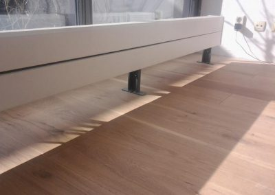 Afwerking houten parketvloer