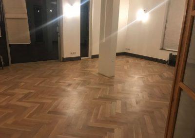 houten vloer restoratie