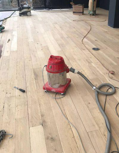 perketvloer restoreren en opknappen
